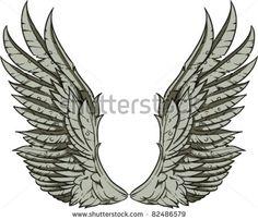 Vector Wings Illustration - 82486579 : Shutterstock