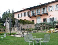 """Cueno Mansion located in Illinois was used for the movie, """"My Best Friends Wedding."""""""