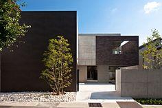 スカッシュコートのある家|RC|レンガ タイル|高級住宅・注文住宅・自由設計・建築家|アーキッシュギャラリー(東京・名古屋・大阪)