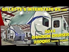 2014 SHADOW CRUISER 280QBS BUNKHOUSE TRAVEL TRAILER BY CRUISER RV --- Gillette's Interstate RV Rv Videos, Bunkhouse Travel Trailer, Recreational Vehicles, Youtube, Camper Van, Campers, Rv Camping