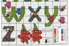 cross stitch alphabet 5