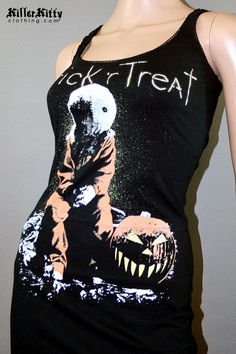 Trick 'R Treat Sam Horror Movie Halloween Tank Top by KillerKitty