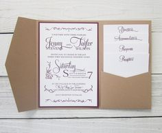 Digital invite mockup pocketfolds inserts wedding cards and learn how to make pocket invitations for your upcoming wedding with the help of our detailed instructions customizing your big day stationery has never stopboris Gallery