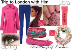 Trip to London with Him - Spring