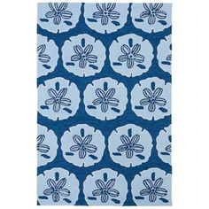 Kaleen Matira MAT06-17 Blue Indoor/Outdoor Rug from @Lamps Plus