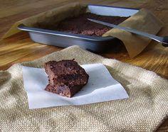 Mia's Glutenfreie Gaumenfreuden: Glutenfreie Adzukibohnen-Brownies / Gluten-free Adzuki Bean Brownies