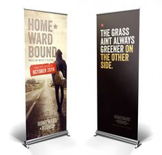 20 Creative Vertical Banner Design Ideas | Vendor Booth Ideas ...