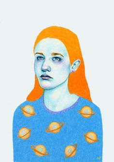 Colorful Pencil Illustrations by Natalie Foss | Inspiration Grid | Design Inspiration