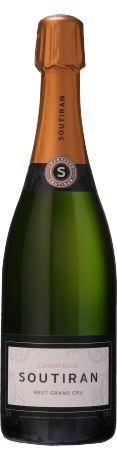 Soutiran Brut Grand Cru blanc non millesimé - Champagne. @Osvaldo_Villar Via Le Figaro Vins