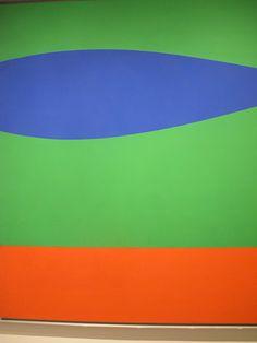 ellsworth kelly blue green and orange