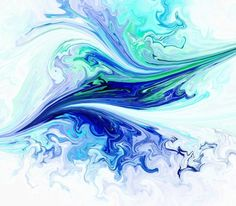 Bird In Flight Abstract Canvas Print bird, abstract, nature, animal, colorful, flying, blue, green
