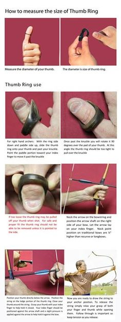 Anillo pulgar  http://www.koreanbow.com/shop/index.php?id_product=15&controller=product&id_lang=1  https://www.facebook.com/PreppingMeansPrepared/