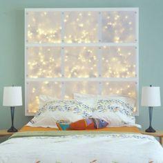 Click Pic for 24 DIY Headboard Ideas | Illuminated Headboard - Moodlighting creates a very relaxing atmosphere  | DIY Bedroom Decorating Ideas