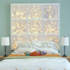 Click Pic for 24 DIY Headboard Ideas   Illuminated Headboard - Moodlighting creates a very relaxing atmosphere    DIY Bedroom Decorating Ideas