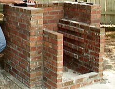 How to Build a Lasting Brick BBQ Stove