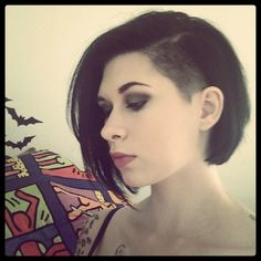 Side shave- from Tumblr