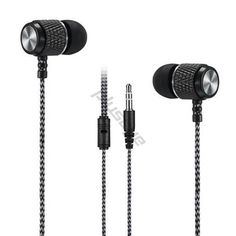In-Ear headset stereo earphones without microphone (3.5mm)