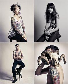 Tattoo people