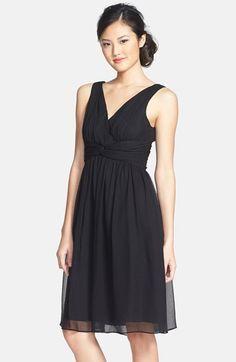 Donna Morgan 'Jessie' Twist Silk Chiffon Dress available at #Nordstrom