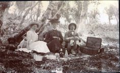 British Raj, India, picnic