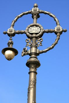 Rome - Via Ostiense, Lamppost