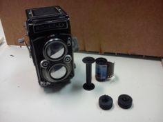 Bricolaje de equipos clásicos de fotografía.