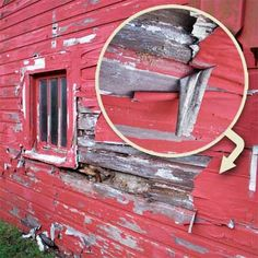 """""""Duct-tape siding: I wonder if the paint voids the warranty.""""thisoldhouse.com 