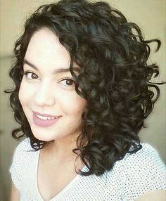 How To Style Short Curly Hair Curly Asymmetrical Bob  My Style  Pinterest  Curly Asymmetrical