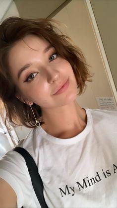 Angelina Danilova, Wwe Divas, Itachi, All Fashion, Pretty Girls, Beautiful Women, Hairstyles, Photoshoot, T Shirts For Women