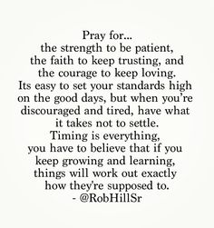 @RobHillSr - Timing is everything...