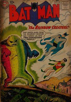 Batman. The rainbow creature, 1960. Cómic.