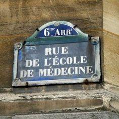 rue de l'Ecole-de-Médecine - Paris 6ème