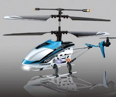 "(BLUE) 4 ch Indoor Infrared Remote Control Helicopter ""DRIFT KING"" with Gyroscope buy now with latest deals offer price"