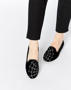 Image 1 of ASOS LEGACY Halloween Slippers