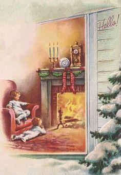 Tots wait for Santa.