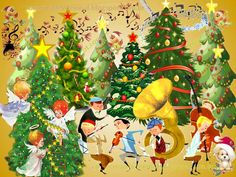Escola Dominical Rosacruz: Orquestra Sinfônica Mundial das Árvores de Natal