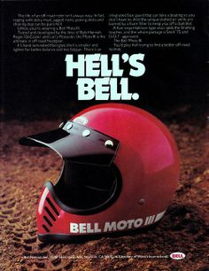 Hell's Bell. Moto 3