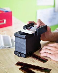 iPhone and Android Film Scanner! Scanning 35mm film is as easy as snapping a pic with your phone.