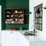 cool 50 Stunning Kitchens Design Ideas With Green Walls