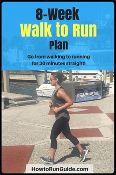 8-Week Walk to Run Plan: Learn How to Start Running