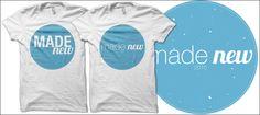 """Made New"" Baptism Shirts"