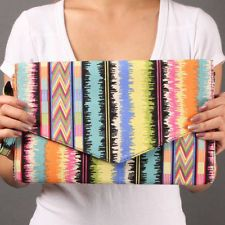 easy eBay buy Tribal Envelope Clutch