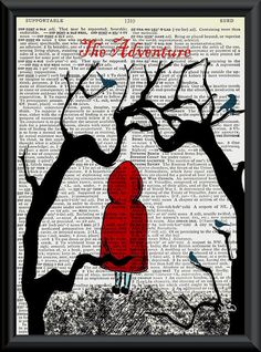 the adventure of red riding hood and the wolf
