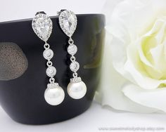Wedding Jewelry Bridesmaid Gift Bridesmaid by SweetMelodyShop, $36.80