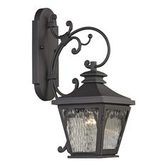 View the Elk Lighting 47081/1 Forged Camden 1 Light Outdoor Wall Sconce at LightingDirect.com.