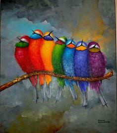 Birds flock together