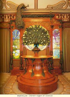 """""""Alphonse Mucha. Reconstruction of the Fouquet Boutique. Musée Carnavalet, Paris, France."""""""