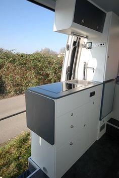 Kitchen in Sprinter Van