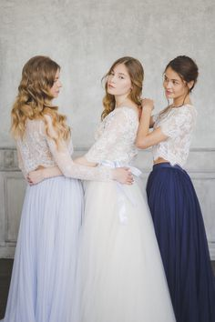 Mix & Match Bridesmaids | Katia Tumenyeva Photography | Viktoria Gusova…