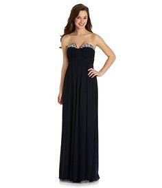 Available at Dillards.com  My senior prom dress!